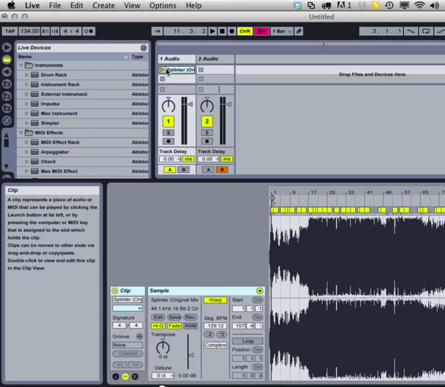 A Quick Ableton Live DJ Setup from Dj CUTMAN
