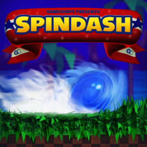 GameChops - Spindash - Sonic the Hedgehog Remix Album Cover
