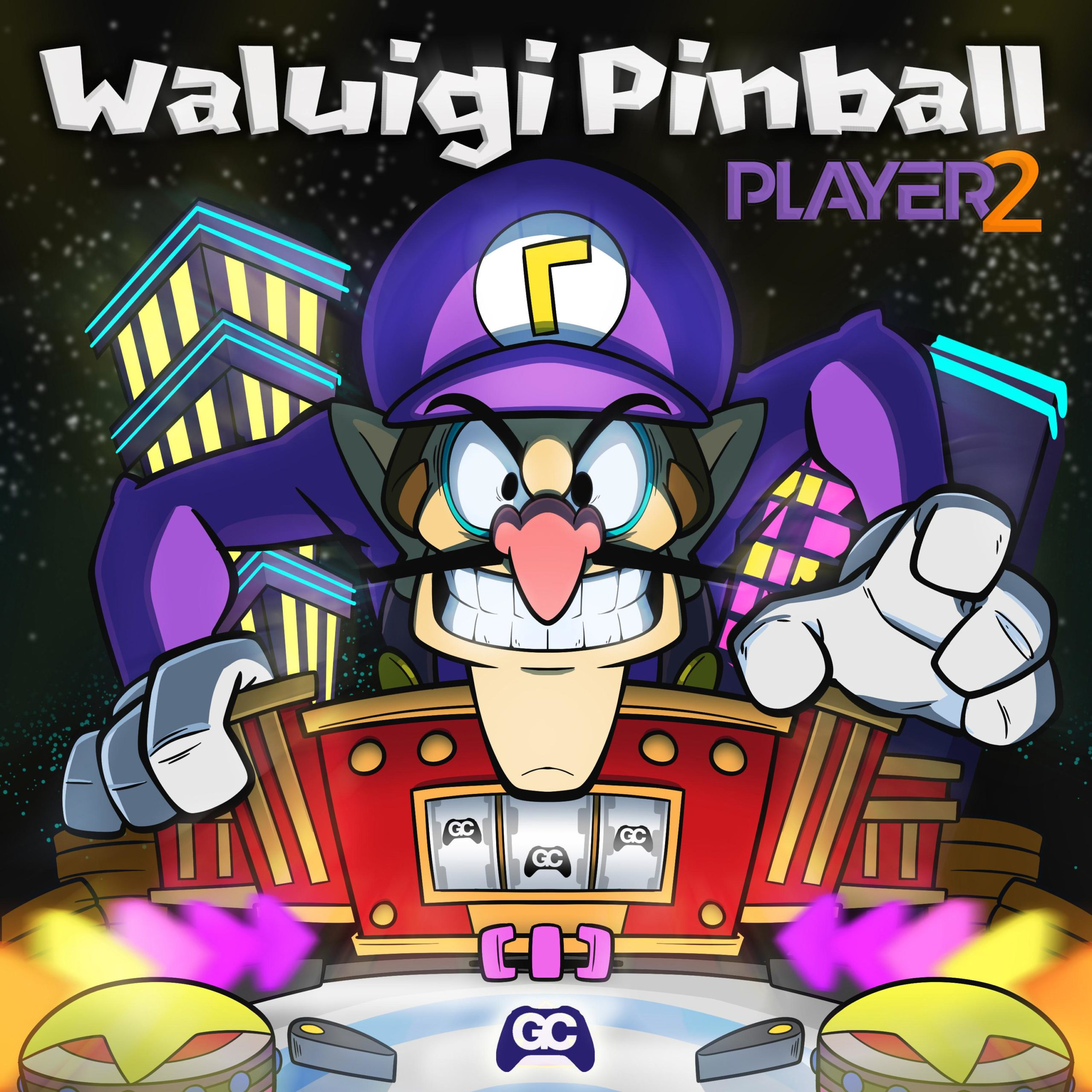 Waluigi Pinball –  Player 2